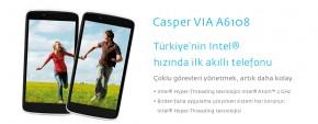 Casper vla Akıllı Telefon